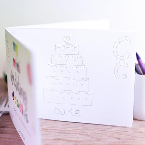 Packs Of Wedding Doodle Books