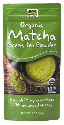 Now Foods Organic Matcha Green Tea
