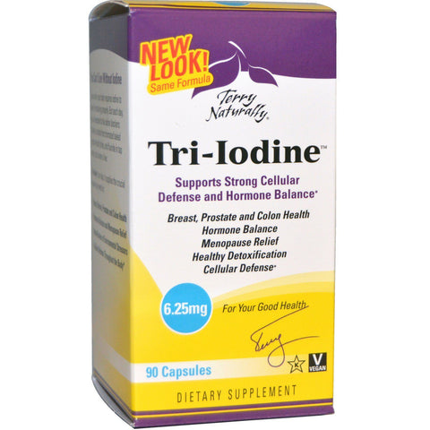 Terry Naturally Tri-Iodine (6 Varieties)