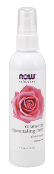 Now Rosewater Rejuvenating Mist