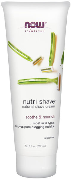 Now Solutions Nutri-Shave Cream