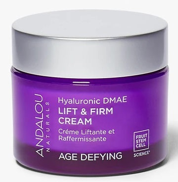 Andalou Age Defying Hyaluronic DMAE Lift & Firm Cream