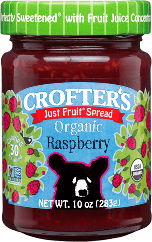 Crofter's Just Fruit Raspberry Spread Organic *TPR*