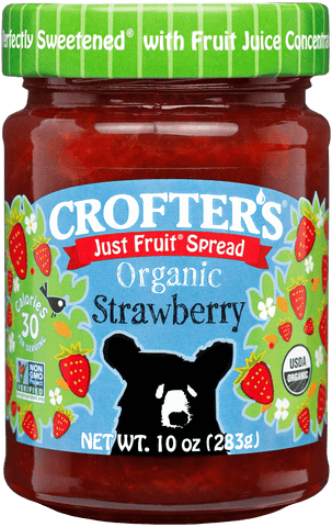 Crofter's Just Fruit Strawberry Spread Organic *TPR*