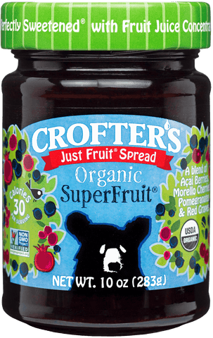 Crofter's Just Fruit Superfruit Spread Organic *TPR*