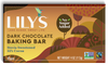 Lily's Dark Chocolate Stevia Sweetened Baking Bar *TPR* *On Sale*