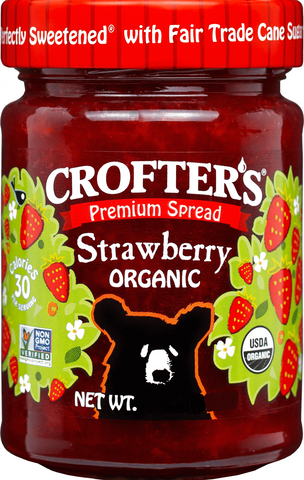 Crofter's Premium Strawberry Spread Organic *TPR*