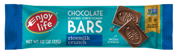 Enjoy Life Chocolate Bar Ricemilk Crunch