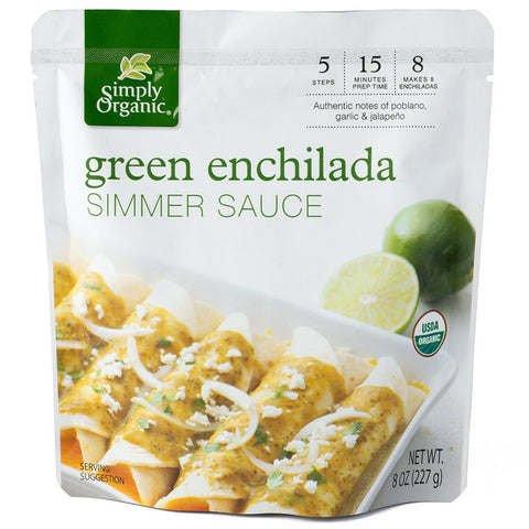 Simply Organic Green Enchilada Simmer Sauce