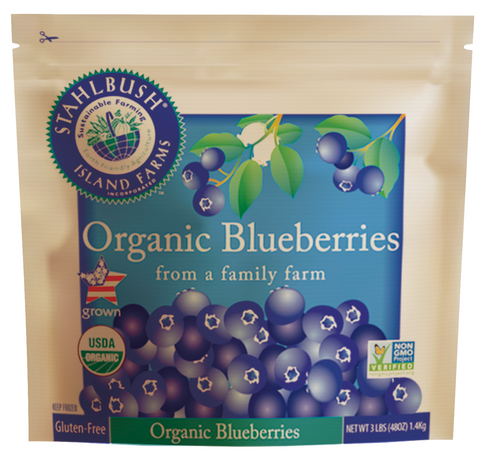 Stahlbush Organic Blueberries