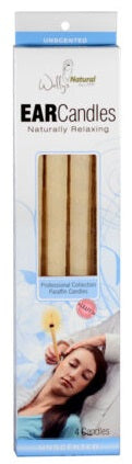Wally's Natural Paraffin Ear Candles Unscented