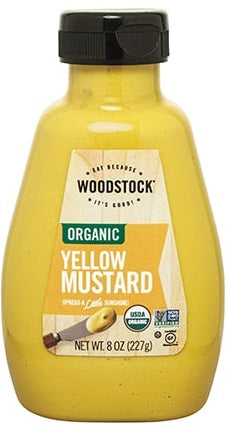 Woodstock Organic Yellow Mustard
