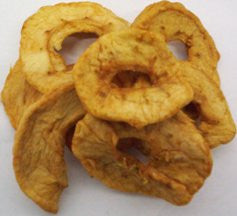 Apple Rings Organic - Dried No Added Sulphur