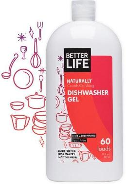 Better Life Auto Dishwasher Gel