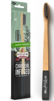 My Magic Mud® Charcoal Infused Bamboo Toothbrush (Varieties)