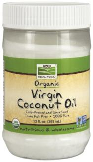 Coconut Oil Organic Virgin (Now Foods)