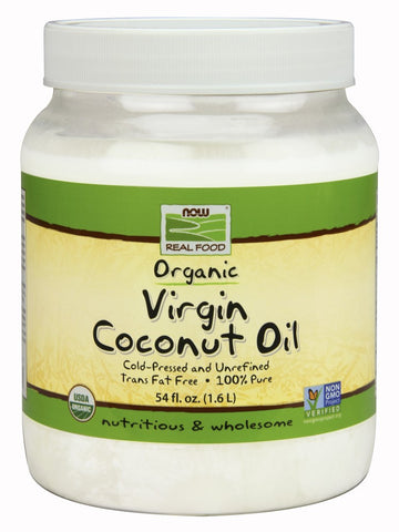 Now Foods Coconut Oil Organic Virgin (3 Sizes)