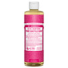 Dr. Bronner's Liquid Castile Soap Rose (2 Sizes)
