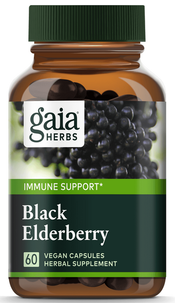 Gaia Black Elderberry Phyto-Caps