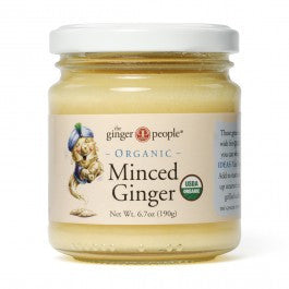 Ginger People Organic Minced Ginger