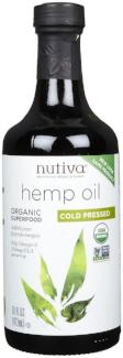 Nutiva Hempseed Oil Organic Cold Pressed