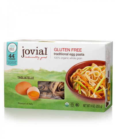 Rice Pasta Organic Brown Egg Noodles (Jovial) *TPR*