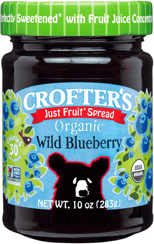 Crofter's Just Fruit Wild Blueberry Spread Organic *TPR*