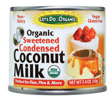 Coconut Milk Organic Sweetened Condensed (Let's Do Organic) *On Sale*