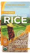 Lotus Foods Tri-Color Rice Organic