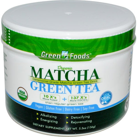 Green Foods Organic Matcha Green Tea