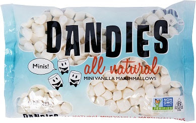 Dandies Vegan Marshmallows (2 Varieties) *TPR*