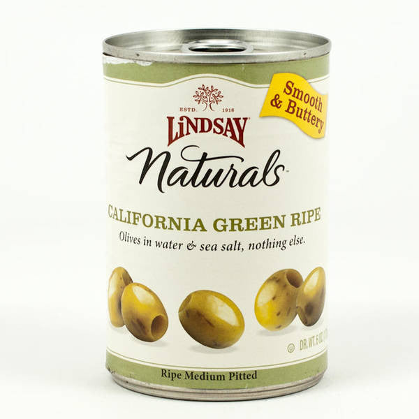 Lindsay Green Ripe Pitted Olives