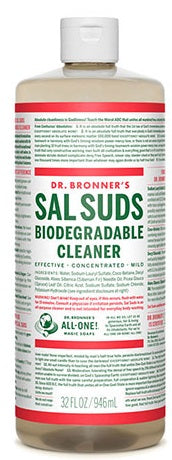 Dr. Bronner's Sal Suds (2 Sizes)