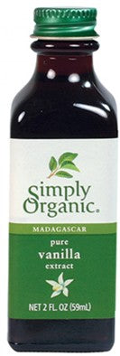 Simply Organic Vanilla Extract (3 Sizes)