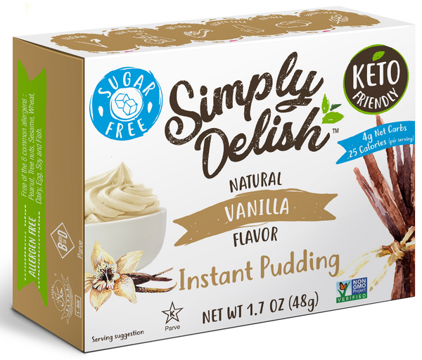 Simply Delish Instant Vanilla Pudding Mix