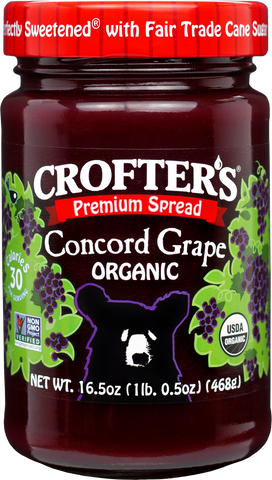 Crofter's Premium Concord Grape Spread Organic *TPR*
