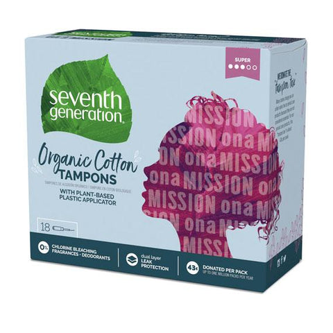 Seventh Generation Organic Tampons (2 Varieties)