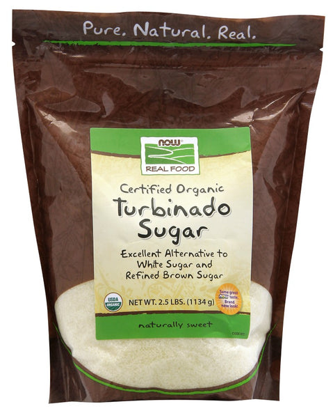 Turbinado Sugar (Now Foods)