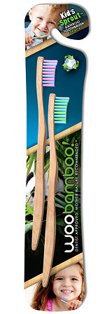 WooBamboo Toothbrushes (3 Varieties) *NEW*