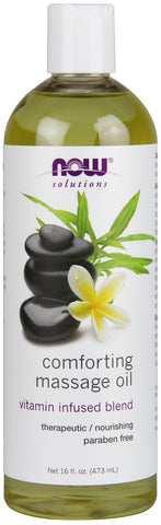 Now Solutions Comforting Massage Oil