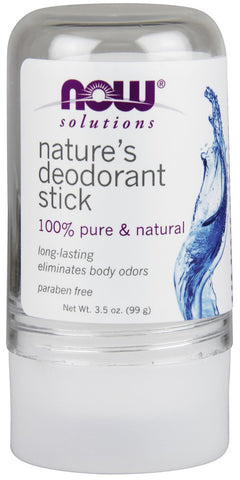 Now Solutions Nature's Deodorant Stick (Stone)