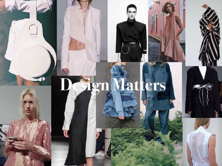 PURE LONDON 2017 fashion catwalk design matters theme by the production team uk and featuring YOJO