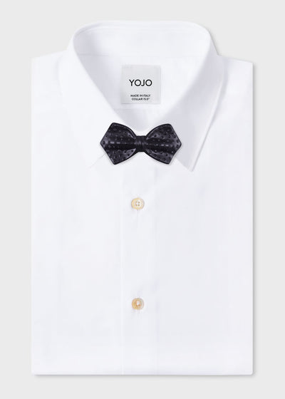 black-matt-satin-bow-tie-ceramic-necktie-designer-shirt-yojo