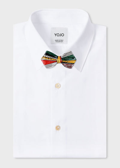 ceramic-bow-tie-on-white-yojo-shirt