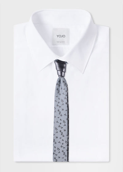 mens-grey-tie-with-gun-metal-knot-designer-yojo