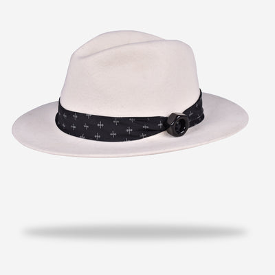 white-fedora-wool-hat-with-silk-hatband--and-ceramic-designer-yojo