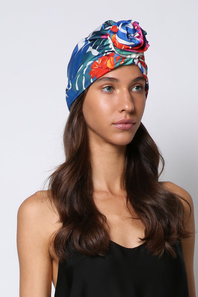 woman-turban-in-silk-summer-leaves-print-designer-hat-yojo