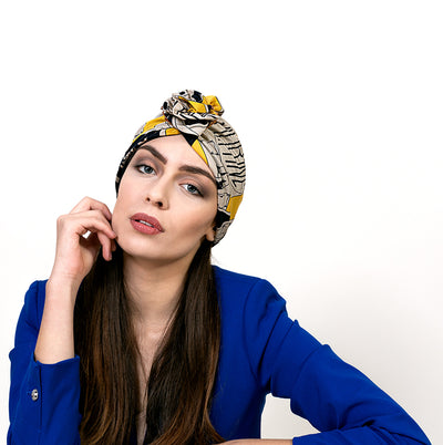 woman-yellow-turban-in-silk-and-ceramic-designer-yojo