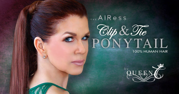 10 Reasons to Wear the AIRess Clip & Tie Ponytail