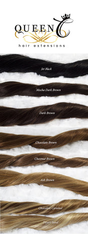 Brown Hair Extensions by Queen C Hair Human Hair Extensions